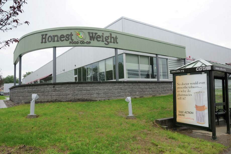 Exterior of the new Honest Weight Food Co-op at 100 Watervliet Ave. on Monday, June 17, 2013 in Albany, N.Y. The soft opening is Wednesday. (Lori Van Buren / Times Union) Photo: Lori Van Buren / 10022837A
