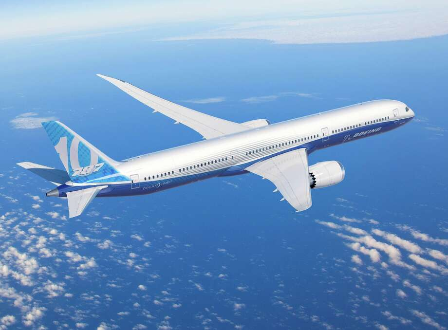 Boeing's new 787-10 Dreamliner is shown in this artist's depiction. Photo: The Boeing Co.