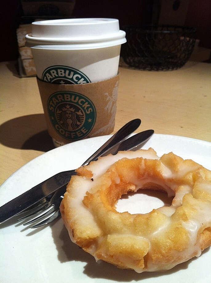 Old-fashioned glazed donut has 480 calories in it. Photo:Warren R.M. Stuart, Flickr