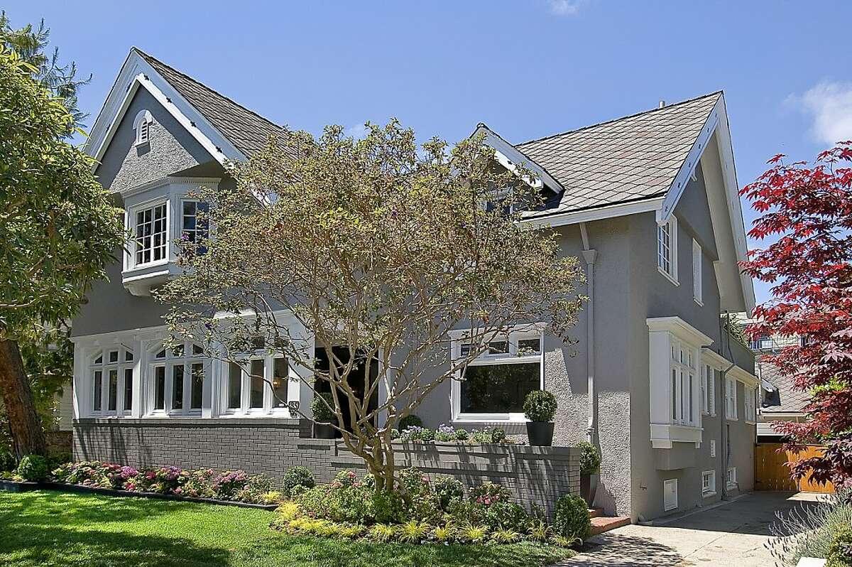 85 Jordan Ave. is a four-bedroom home in Laurel Heights designed by Julia Morgan.