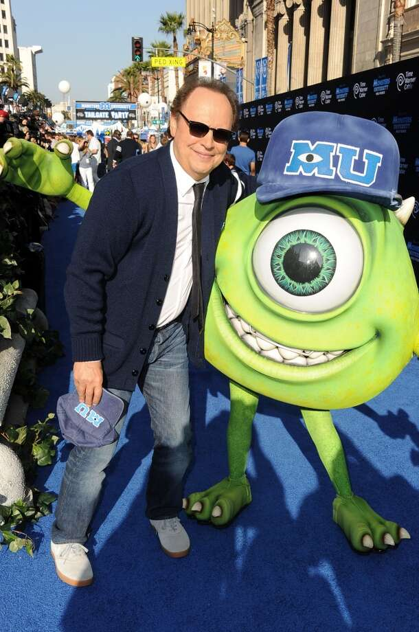 "HOLLYWOOD, CA - JUNE 17:  Actor Billy Crystal attends the world premiere of Disney Pixar's ""Monsters University"" at the El Capitan Theatre on June 17, 2013 in Hollywood, California.  (Photo by Kevin Winter/Getty Images)"