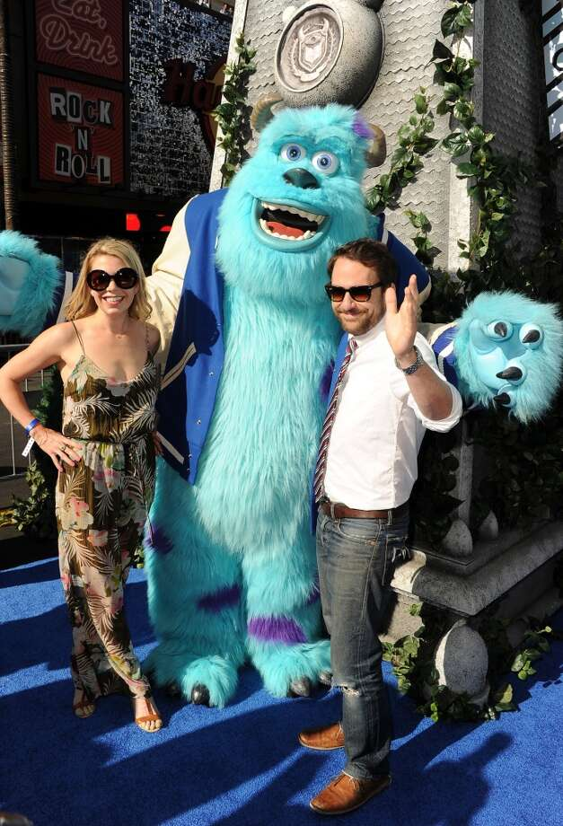 """HOLLYWOOD, CA - JUNE 17:  Actors Mary Elizabeth Ellis and Charlie Day attend the world premiere of Disney Pixar's """"Monsters University"""" at the El Capitan Theatre on June 17, 2013 in Hollywood, California.  (Photo by Kevin Winter/Getty Images)"""