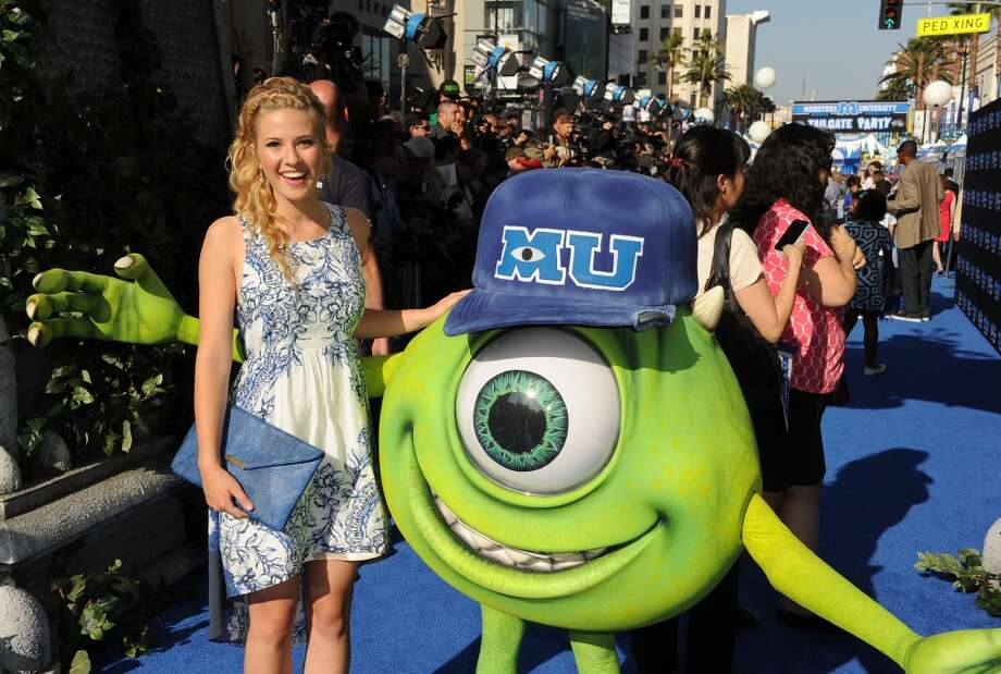 "HOLLYWOOD, CA - JUNE 17:  Actress Caroline Sunshine attends the world premiere of Disney Pixar's ""Monsters University"" at the El Capitan Theatre on June 17, 2013 in Hollywood, California.  (Photo by Kevin Winter/Getty Images)"