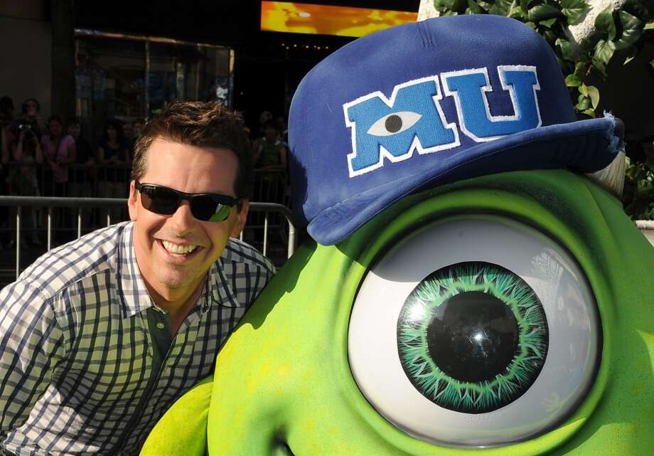 "HOLLYWOOD, CA - JUNE 17:  Actor Sean Hayes attends the world premiere of Disney Pixar's ""Monsters University"" at the El Capitan Theatre on June 17, 2013 in Hollywood, California.  (Photo by Kevin Winter/Getty Images)"