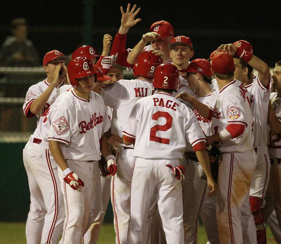Adding one more District 20-5A baseball championship to its trophy case, Bellaire capped a school year that included eight league titles, seven runners-up and playoff berths in every sport except one. Photo: Karen Warren, Staff / © 2013 Houston Chronicle