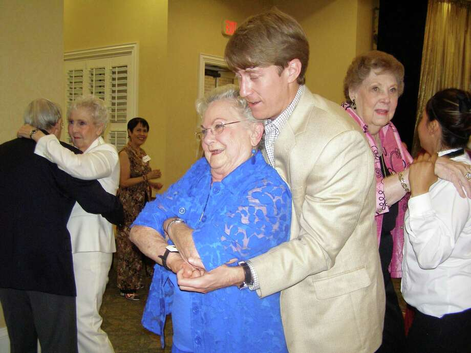 Friends, family and guests attended the Village of Tanglewood Big Band Party.