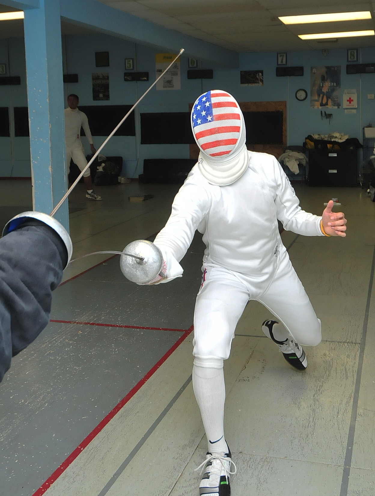 Chronicle makes a with point Houston Teen fencing success AL354Rj