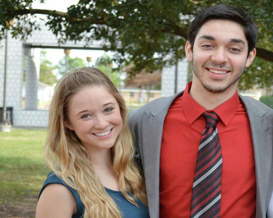 Lamar High School graduating seniors Susannah Mitcham and Austin Ruiz compete this week in the National Forensic League's annual national tournament in Birmingham, Ala. Photo: Handout