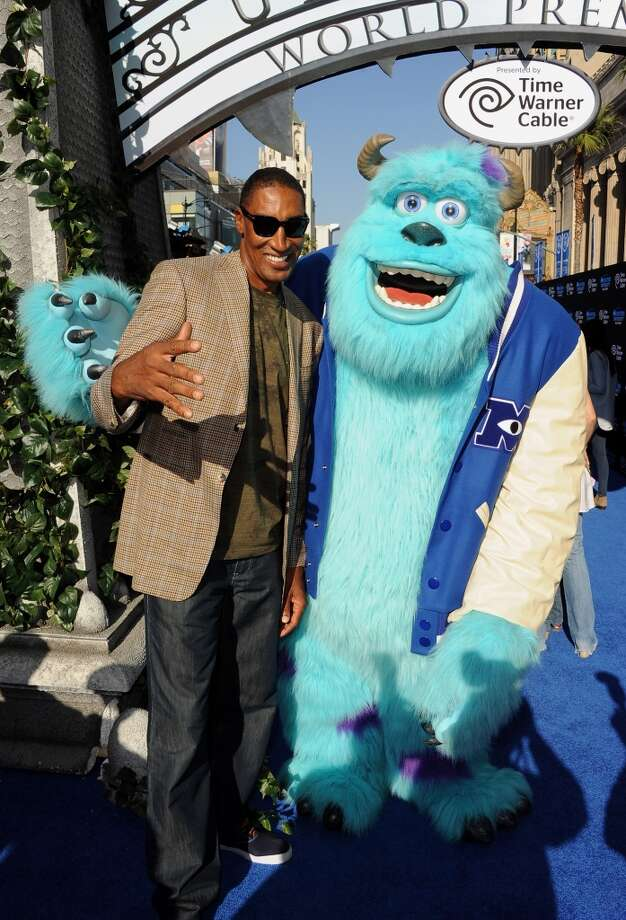 "HOLLYWOOD, CA - JUNE 17:  Former professional basketball player Scottie Pippen attends the world premiere of Disney Pixar's ""Monsters University"" at the El Capitan Theatre on June 17, 2013 in Hollywood, California.  (Photo by Kevin Winter/Getty Images)"