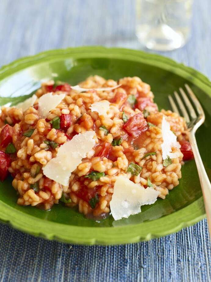 Good Housekeeping recipe for Microwave Tomato Risotto. Photo: Tara Donne
