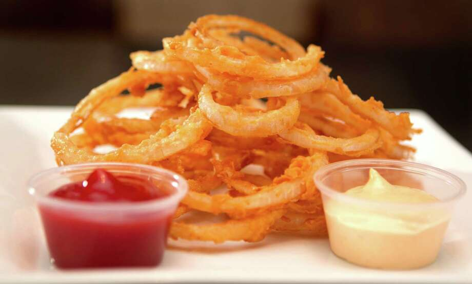 Onion Rings, $2.95 - seen at The Burger Palace Friday, July 1, 2011, in Houston.  ( Cody Duty / Houston Chronicle ) Photo: Cody Duty, Staff / © 2011 Houston Chronicle
