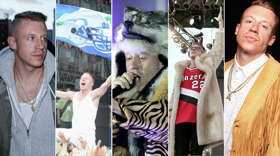 Seattle's own Macklemore turns 30 on Wednesday, so we figure it's a time for a look back at his less distinguished career as a fashion icon. Check out Macklemore's best and worst looks. The hangers can't hold them. Photo: Getty