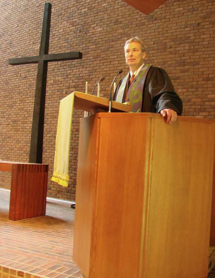 The First Presbyterian Church of New Canaan honored the Rev. Paul Gilmore, who marked his 30th anniversary as a minister, on Sunday, June 9. Photo: Contributed Photo
