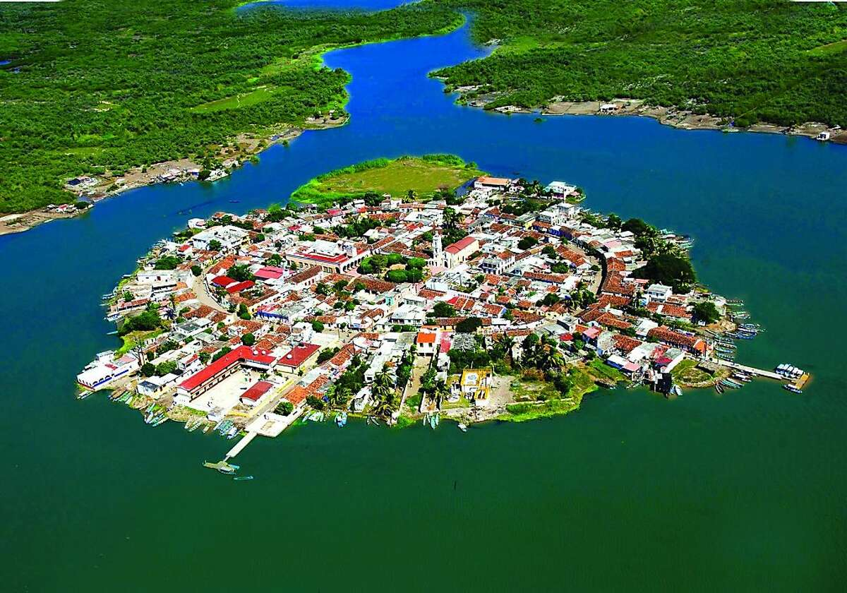 Mexcaltitan, one of Mexico's Magic Pueblos, is a manmade island of floating mangroves and canals where legend has it that the Aztec civilization originated.