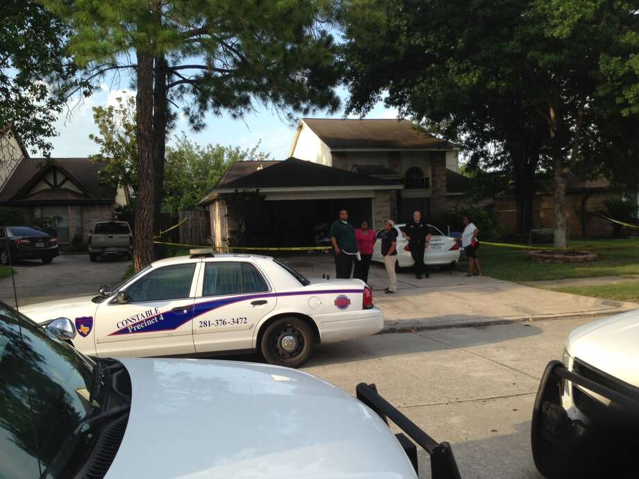 A homeowner called Harris County constables to report the body about 1 p.m. Tuesday behind a home in the 5000 block of Brooklawn.