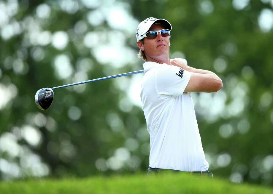 ARDMORE, PA - JUNE 15: Nicolas Colsaerts of Belgium hits his tee shot on the fourth hole during Round Three of the 113th U.S. Open at Merion Golf Club on June 15, 2013 in Ardmore, Pennsylvania. Photo: Andrew Redington, Getty Images / 2013 Getty Images