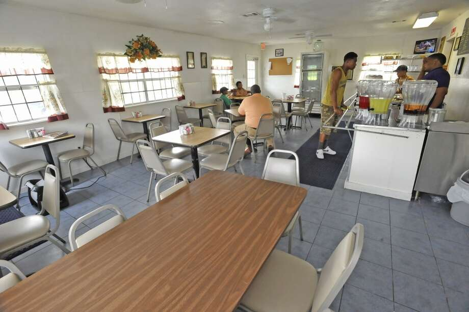This is the dinning area. Adam Crawford is behind the counter. Willie Mae's, a soul food restaurant on Fannett Road in Beaumont, is the June 13 restaurant of the week. Dave Ryan/The Enterprise