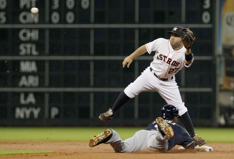 June 18: Astros 10, Brewers 1 Houston's offense exploded in the series opener versus Milwaukee.  Record: 27-45. Photo: Thomas B. Shea, For The Chronicle