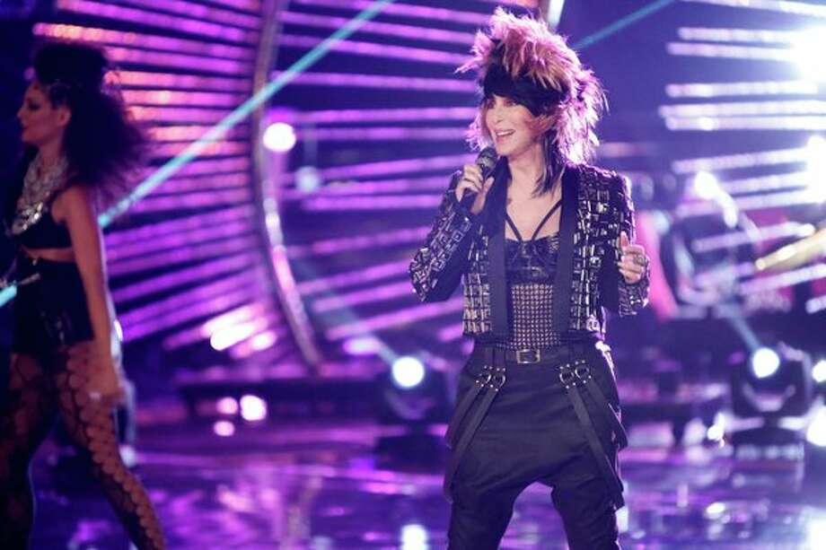"THE VOICE -- Episode 419B ""Live Finale"" -- Pictured: Cher -- Photo: NBC, Tyler Golden/NBC / 2013 NBCUniversal Media, LLC"