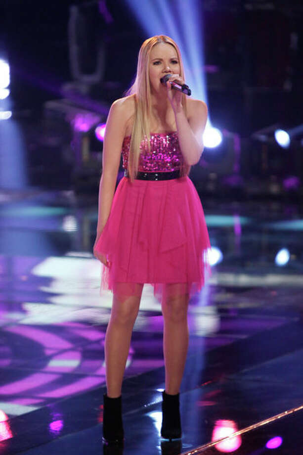 "THE VOICE -- Episode 419B ""Live Finale"" -- Pictured: Danielle Bradbery -- Photo: NBC, Tyler Golden/NBC / 2013 NBCUniversal Media, LLC"