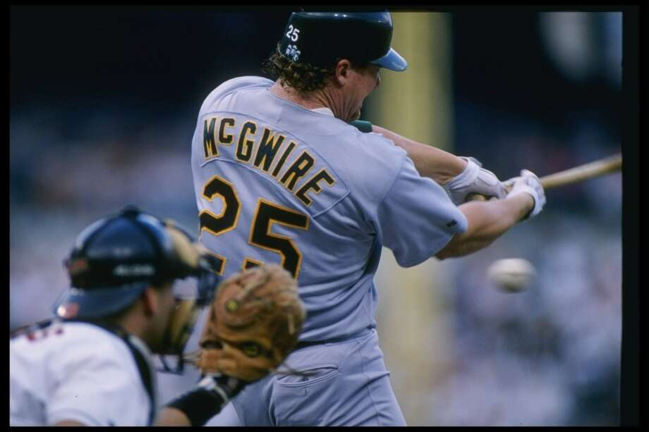 HONORABLE MENTION:  Mark McGwire — Steroid scandals aside, many fans spoke up for how great he was in his Oakland days.