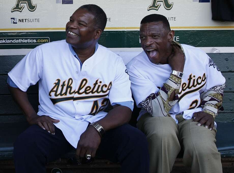HONORABLE MENTION:  Dave Henderson (left) — Hendu got plenty of votes from the fans. After signing with the A's as a free agent, Hendu went on to put up the best stats of his career.