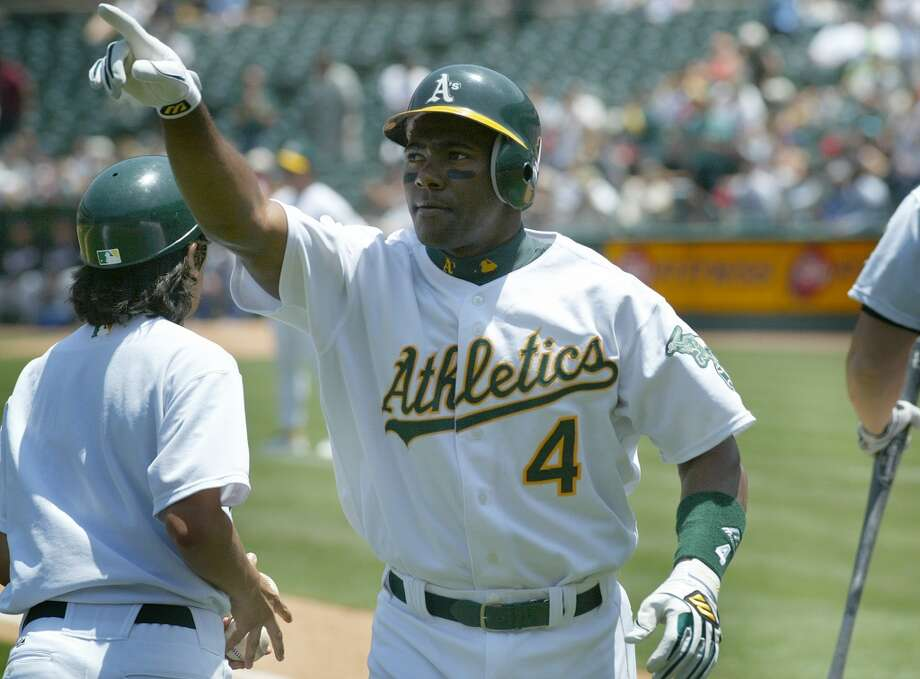 HONORABLE MENTION:  Miguel Tejada — The AL MVP was an icon of the A's in the late 90s and early 2000s.