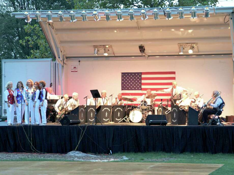 The Bob Button Orchestra and singing group Button and Bows will kick off the Greenwich Dept. of Parks and Rec's Wednesday night concert series on July 10, from 7:15 to 8:45. Photo: Contributed Photo / Greenwich Citizen