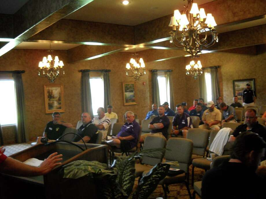 Coaches Clinic At Rayburn Country photo by Jeff reedy