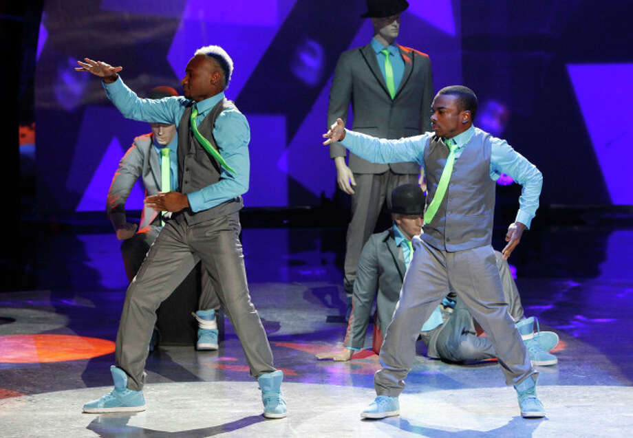 "SO YOU THINK YOU CAN DANCE: Animation dancers (L-R) BluPrint and Zuberi perform a routine in their dance genre in the ""Meet the Top 20"" episode of SO YOU THINK YOU CAN DANCE airing Tuesday, June 18 (8:00-10:00 PM ET/PT) on FOX. ©2012 FOX Broadcasting Co. Cr: Adam Rose/FOX"