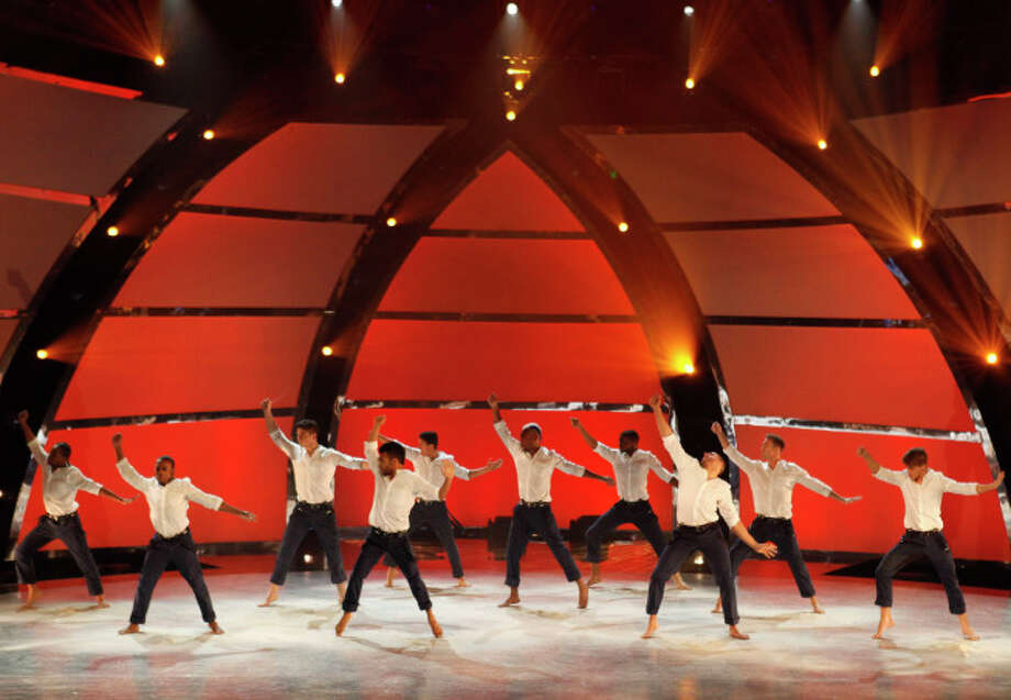 """SO YOU THINK YOU CAN DANCE: The top 10 guys perform in the """"Meet the Top 20"""" episode of SO YOU THINK YOU CAN DANCE airing Tuesday, June 18 (8:00-10:00 PM ET/PT) on FOX. ©2012 FOX Broadcasting Co. Cr: Adam Rose/FOX"""