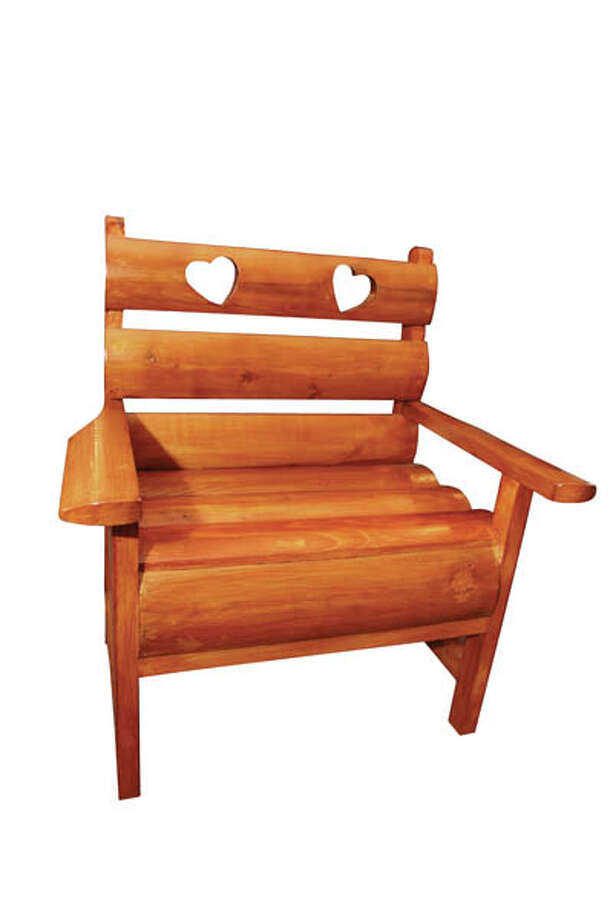 Children's Chair Make the kids feel extra special ­— give them their own little chair! This wooden piece is from DBC Crafts by Amy and David Cohen. $38.95.