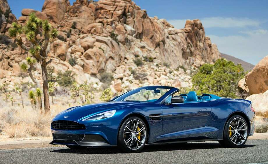 2014 Aston Martin Vanquish Volante Photo: Car And Driver