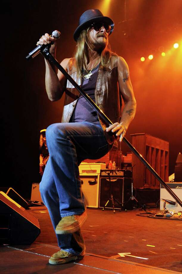Kid Rock will perform in Houston July 19. Photo: Jeff Daly, INVL / Invision