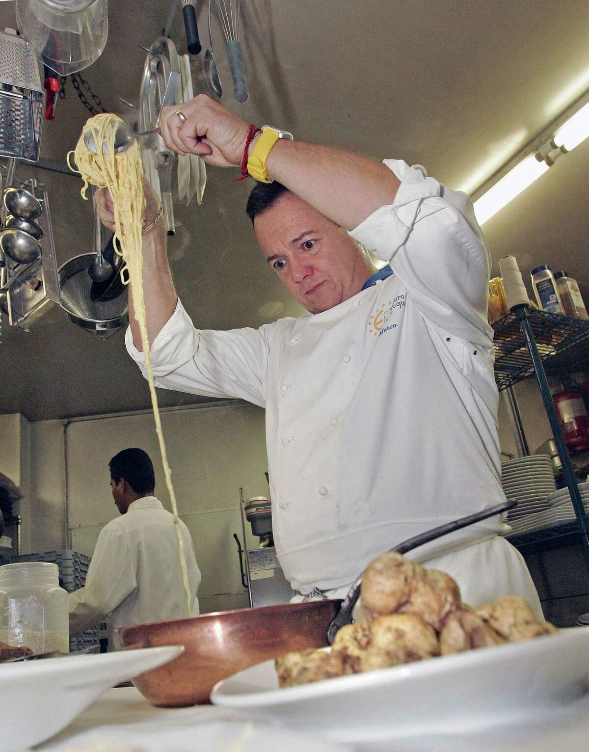 Da Marco chef-owner Marco Wiles
