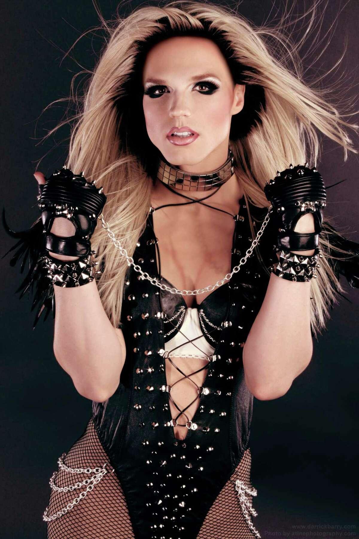 Derrick Barry as Britney Spears Las Vegas, NV