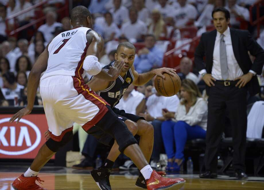 June 6: Game 1 - Spurs 92, Heat 88