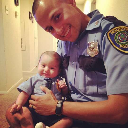 My husband, Edgard Cerpas is an outstanding father. He works as a peace officer for the City of Hous