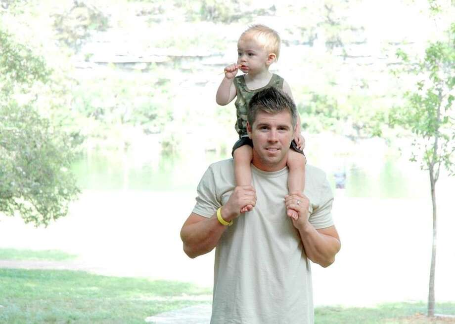Chase is an amazing husband and dad! He is very caring and protective of myself and our little boy, Carter, and I do not know what I would do without him. He is a Firefighter for HFD and he risks his life on a daily basis to help others in our community. He is definitely one of the hottest dads around with one of the biggest hearts!