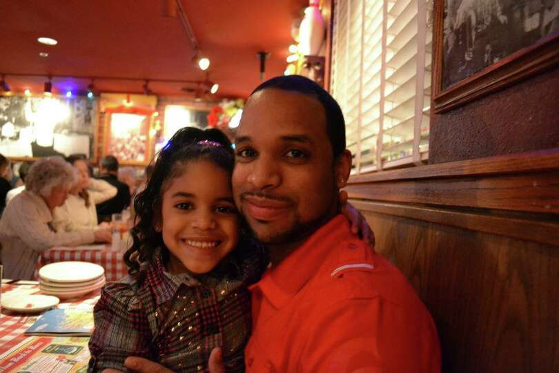 My brother-in-law is the most amazing dad! He is always there for his little girl and she is his lit