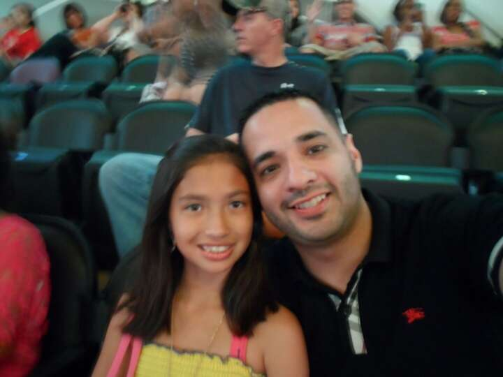 Daddy and I at Taylor Swift Concert!!Best Daddy in the WORLD!!  I Love him so very much!!