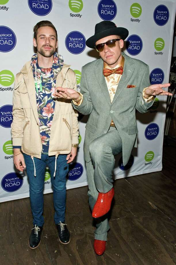 Is it the gold shoes? Is it the bowtie? The red shoes? 'Cause we all know exactly how awesome this is. Photo: Timothy Hiatt, Getty Images / 2013 Getty Images