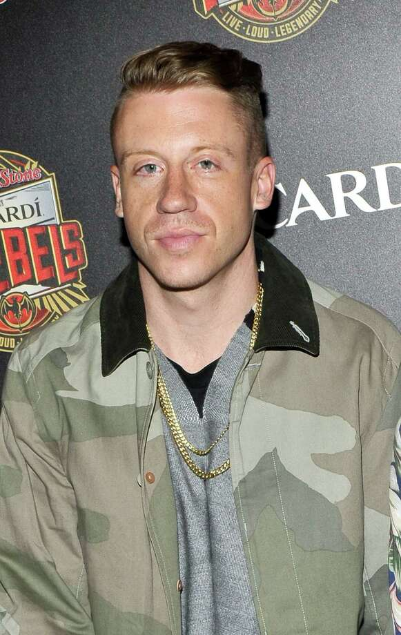 We'd like to be the first to thank Macklemore for his service in Operation Desert Shield. (Photo by Daniel Zuchnik/FilmMagic) Photo: Daniel Zuchnik, Getty Images / 2013 Daniel Zuchnik