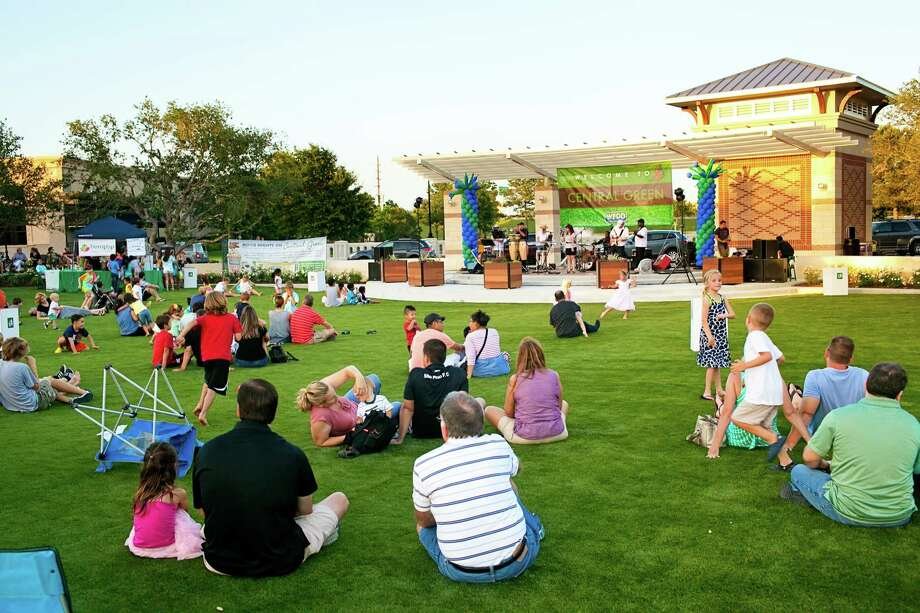 Featuring summer movies and other events, Central Green at LaCenterra adds to the list of activities to enjoy in west Houston's Cinco Ranch community.