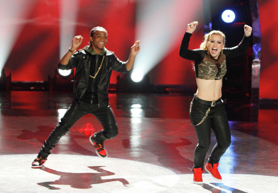 "SO YOU THINK YOU CAN DANCE: Hip Hop dancers Fik-Shun (L) and Mariah Spears perform a routine in their dance genre in the ""Meet the Top 20"" episode of SO YOU THINK YOU CAN DANCE airing Tuesday, June 18 (8:00-10:00 PM ET/PT) on FOX. ©2012 FOX Broadcasting Co. Cr: Adam Rose/FOX"