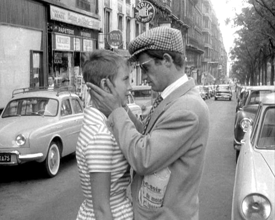 "Jean-Paul Belmondo and Jean Seberg in Jean-Luc Godard's ""Breathless"" (1960).  A hard to love classic. Photo: Rialto Pictures/Studio Canal"