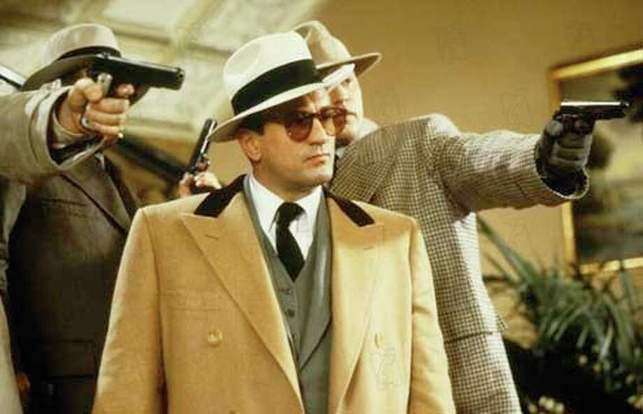 "Robert De Niro as Al Capone in ""The Untouchables.""  From 1987.  Chosen by Gershwin idiot."