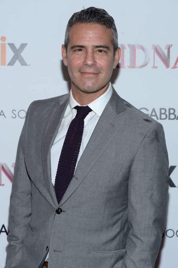 """NEW YORK, NY - JUNE 18:  Andy Cohen attends the Dolce & Gabbana and The Cinema Society screening of the Epix World premiere of """"Madonna: The MDNA Tour"""" at The Paris Theatre on June 18, 2013 in New York City.  (Photo by Dimitrios Kambouris/Getty Images)"""