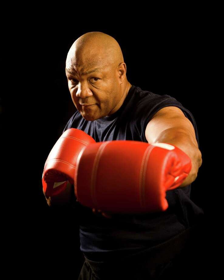 George Foreman is top fighter and indoor grillmaster of the group. Photo: Robert Seale, For The Chronicle / Freelance