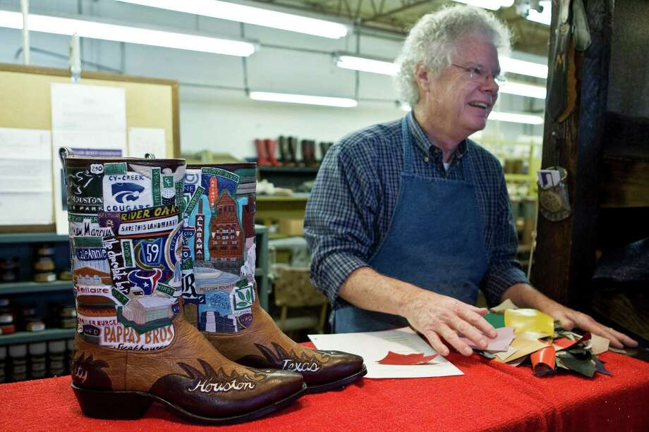 Get a pair of boots made from Wheeler Custom Boots. Photo: James Nielsen, Chronicle / Houston Chronicle